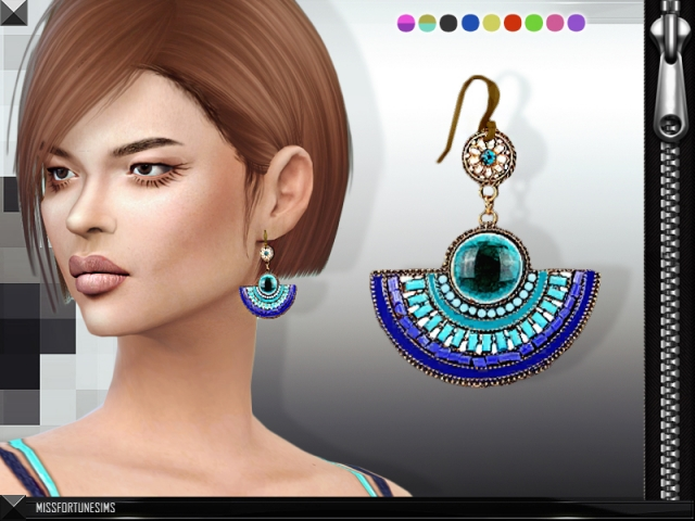 Erin Earrings by MissFortune Sims