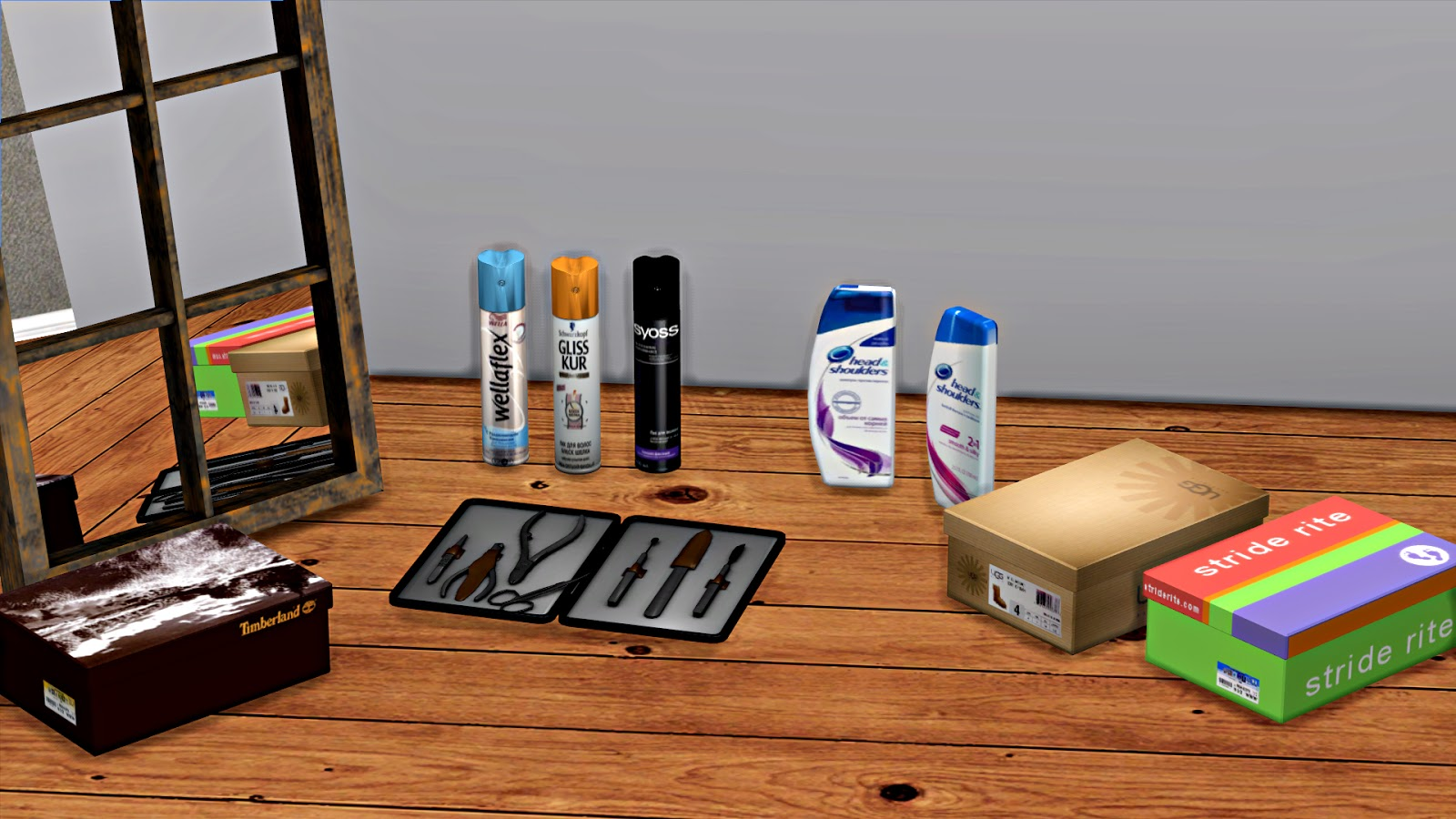 Misc Clutter by Leo4Sims