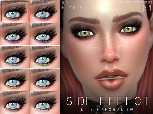 [ Side Effect ] - Duo Eyeshadow by Screaming Mustard