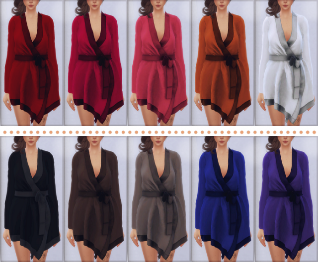 Satin Robe (by Loubelle) by EllieSimple