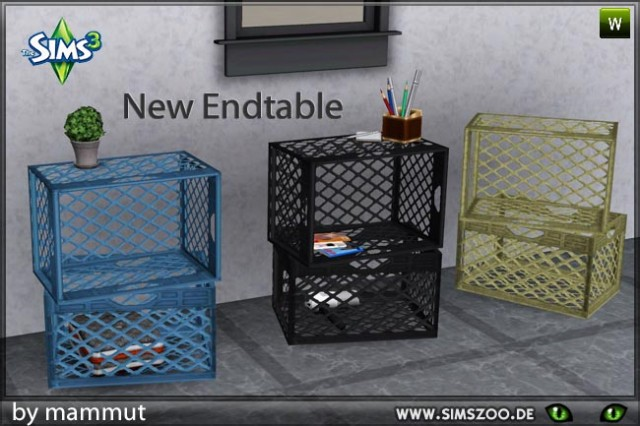 EndTable - Crates by mammut