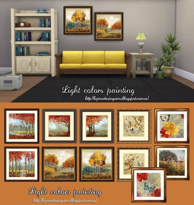 Light colors painting by Kyma