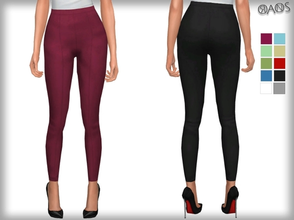 Skinny Crop Trousers by OranosTR