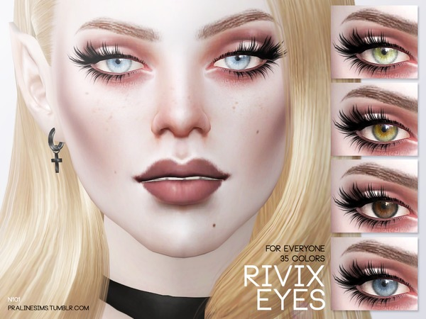 Rivix Eyes N101 by Pralinesims