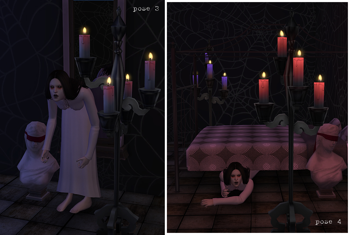 Ghost poses by Wistful Castle
