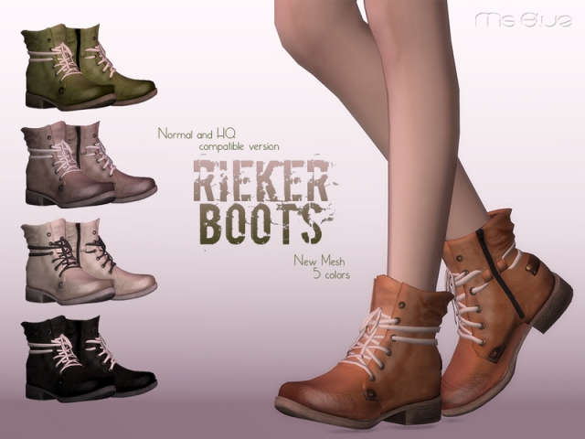 Rieker Boots Normal+HQ Compatible by Ms Blue
