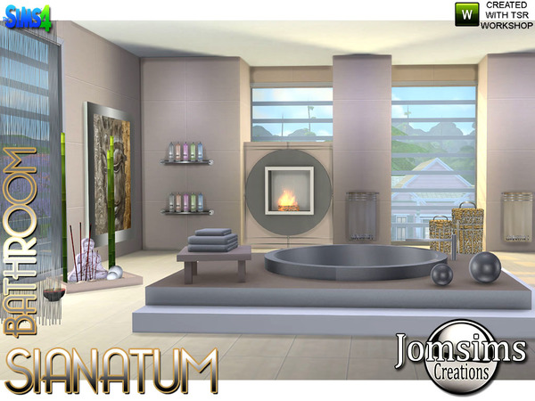 Sianatum Bathroom by jomsims