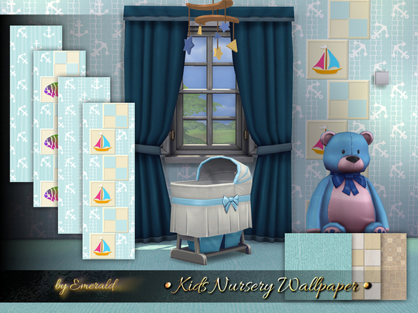 Kids Nursery Wallpaper by emerald