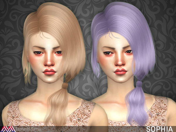 Sophia ( Hair 21 ) by TsminhSims