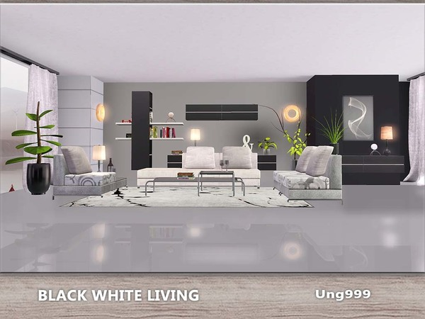 Black White Living by ung999