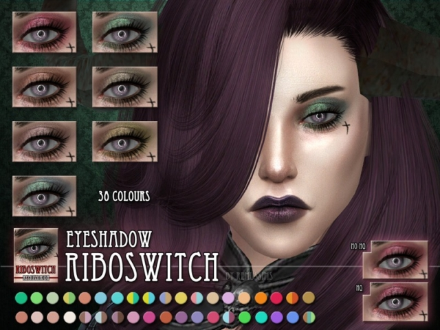 Riboswitch Eyeshadow by RemusSirion