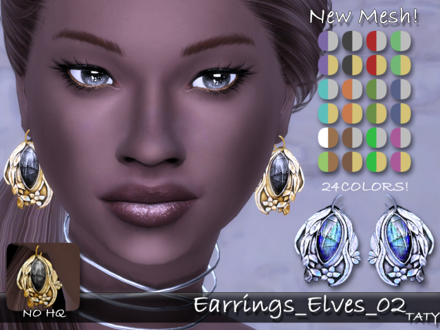 Earrings Elves 02 by tatygagg