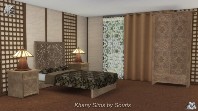 Mandarin Bedroom Set by Souris