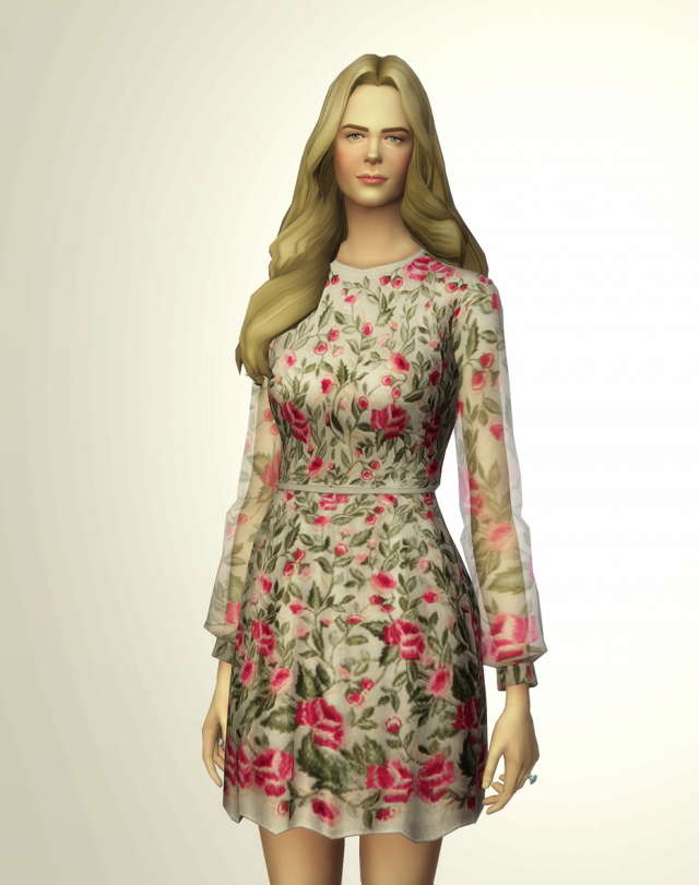 Blossom Pink Dress by Vilshenko (3 color) by Rusty Nail
