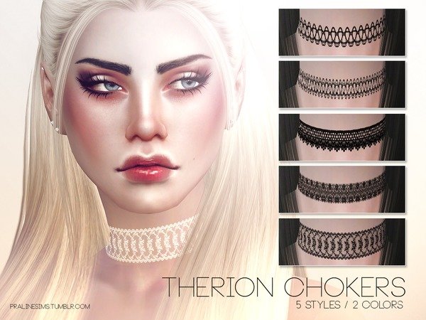 Therion Chokers by Pralinesims