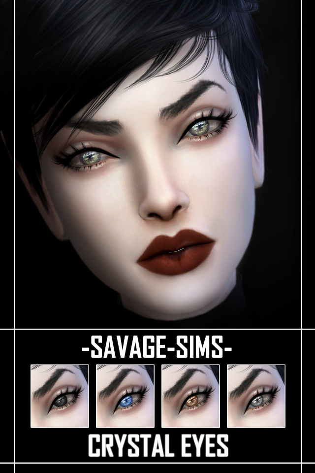 Crystal Eyes by SavageSims