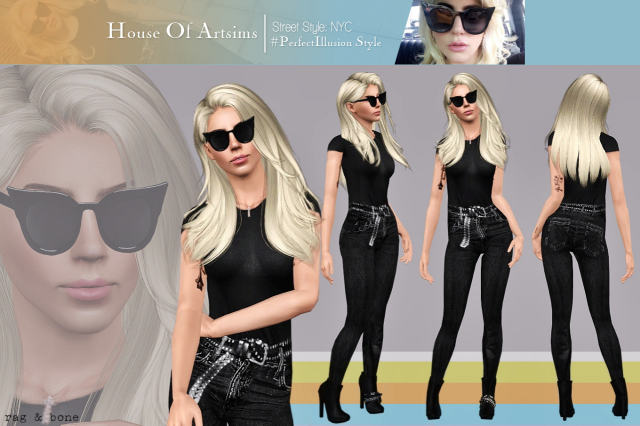 Street Style: NYC  #PerfectIllusion Style by ArtSims