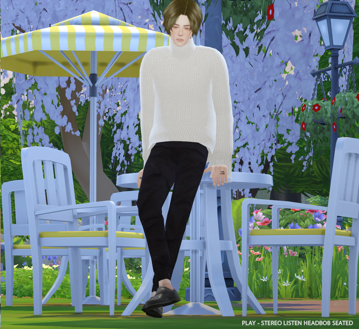 TS4 - COFFEE  ANIMATION POSE by HESS