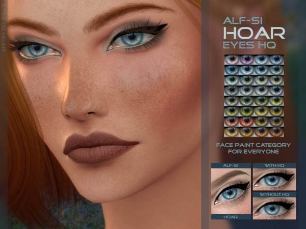 Hoar - Eyes 05 HQ by Alf-si