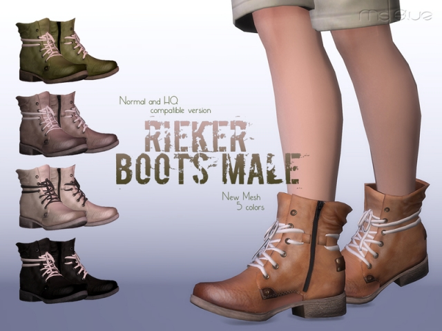 Rieker Boots Normal+HQ Compatible (для мужчин) by Ms Blue