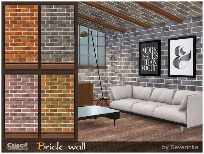 Brick wall by Severinka