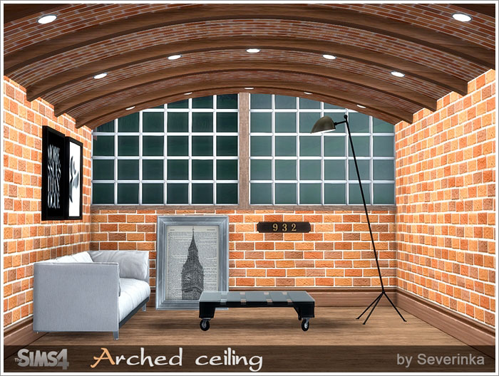 Arched ceiling  by Severinka