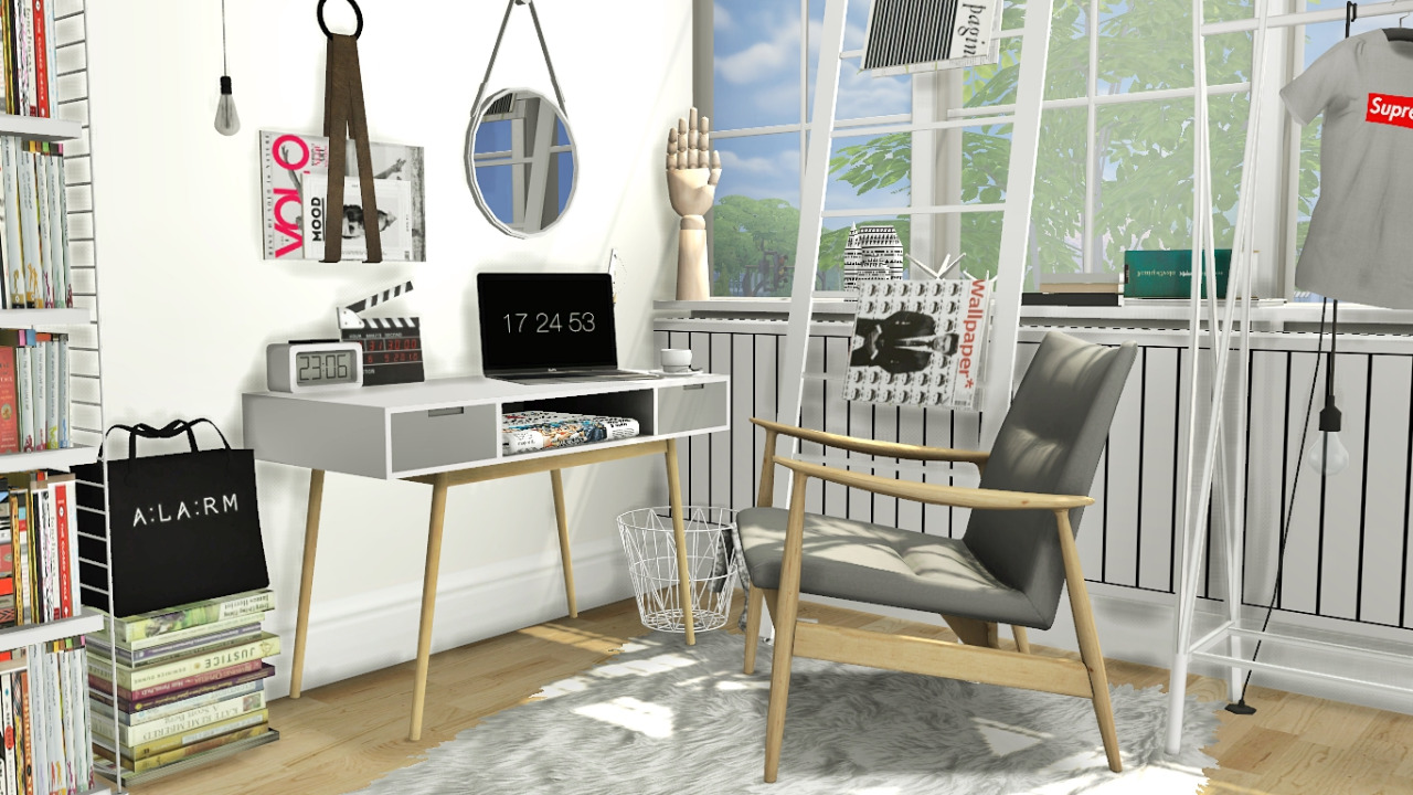 Office Set and Recolors by MXIMS
