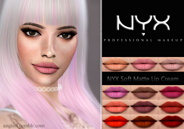 NYX Soft Matte Lip Cream by ANGISSI