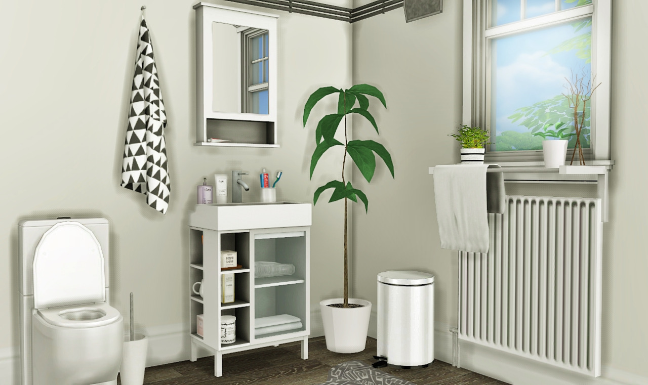 IKEA LILLNGEN Bathroom Set by MXIMS