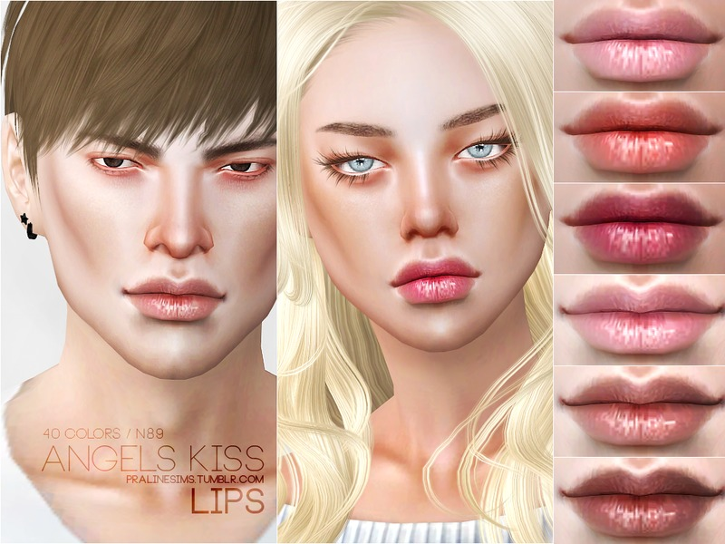 Angels Kiss Lips N89 by Pralinesims