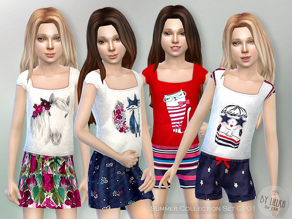Summer Collection-Set GP01 by lillka
