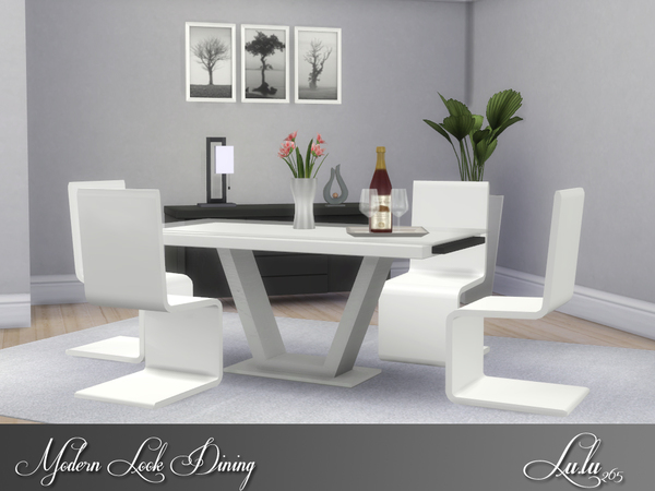 Modern Look Dining by Lulu265