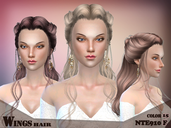 WINGSIMS HAIR NTE910 F by wingssims