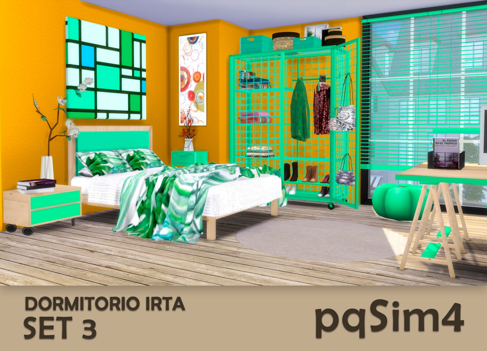 Dormitorio Irta Set 3 by pqSim4