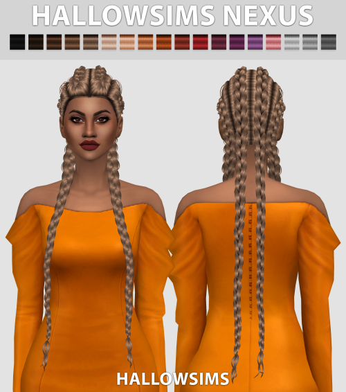 Nexus Hair by HallowSims