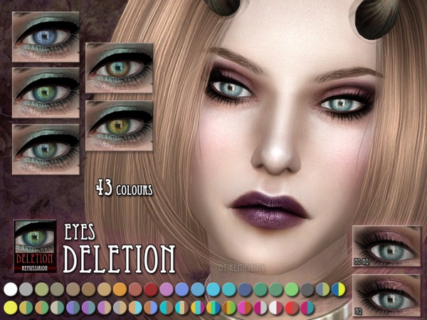 Deletion Eyes by RemusSirion