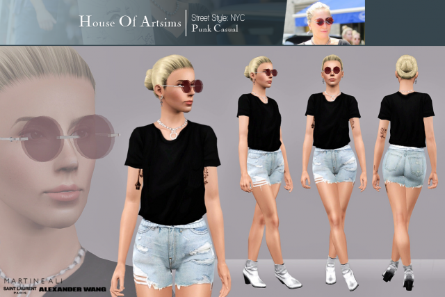 Street Style: NYC  Punk Casual by ArtSims