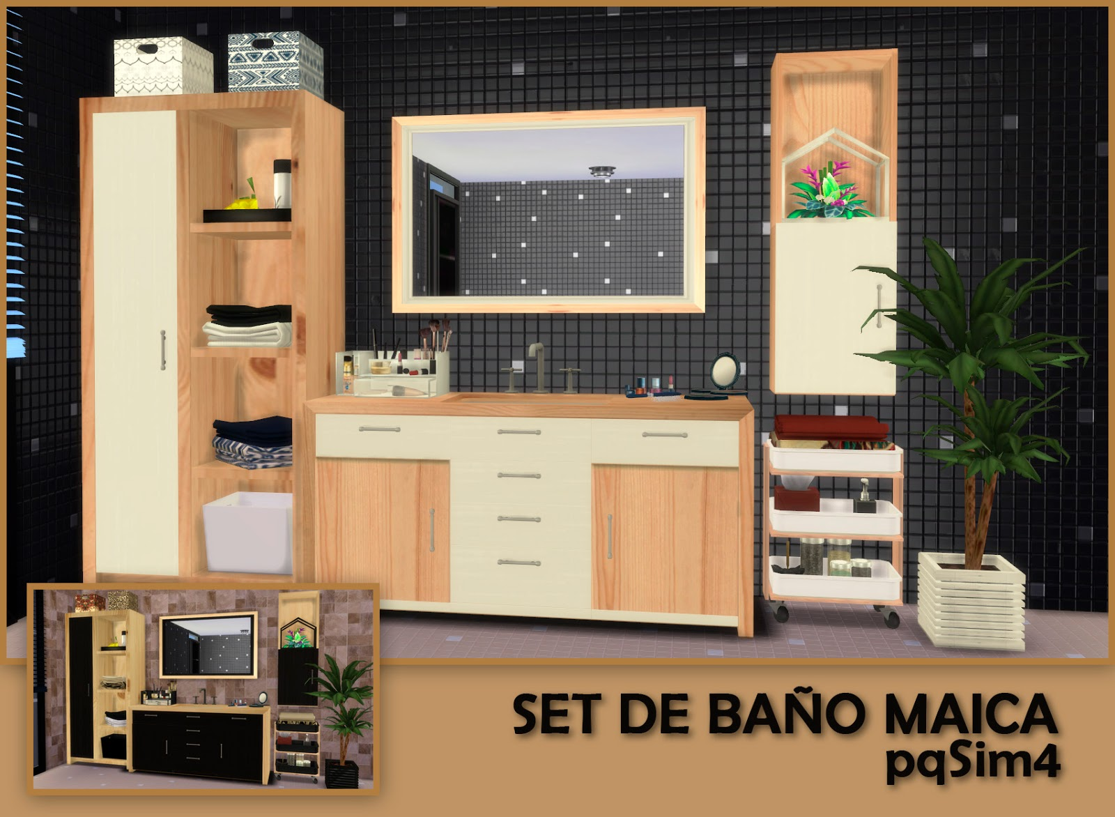 Set Bathroom Maica by pqsim4