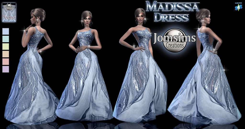 Duchesse and Madissa Dresses by JomSims