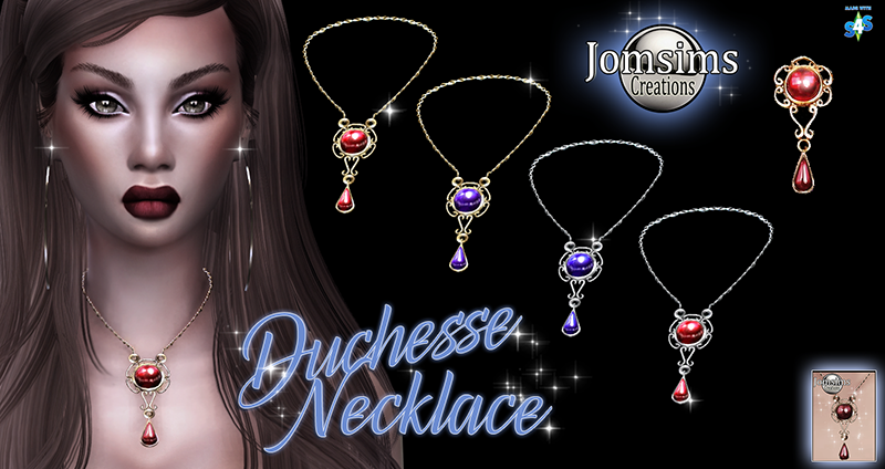Duchesse Necklace by JomSims