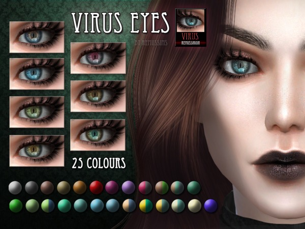 Virus Eyes by RemusSirion