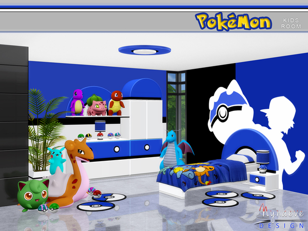 Pokemon Kids' Room by NynaeveDesign