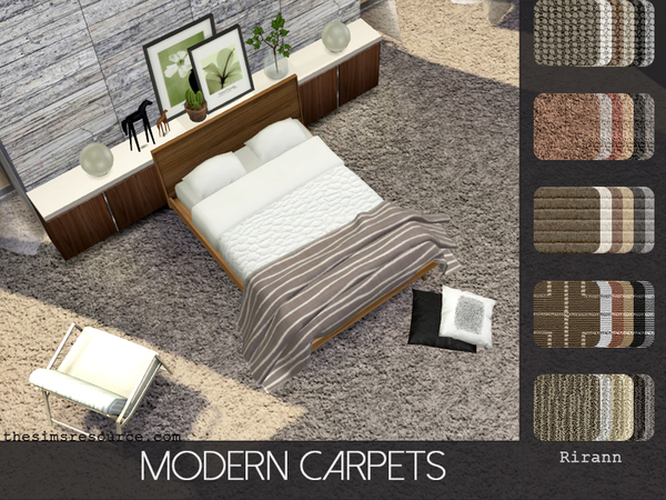 Modern Carpets by Rirann
