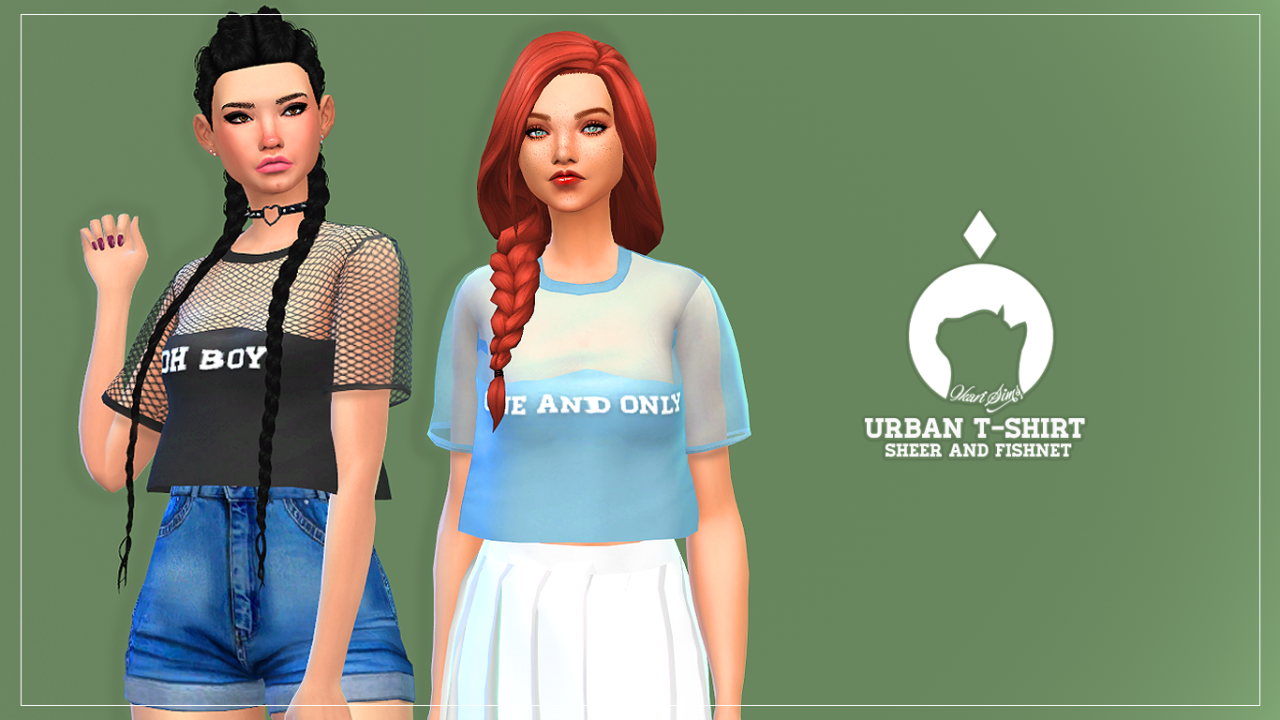Urban T-Shirt by IkariSims