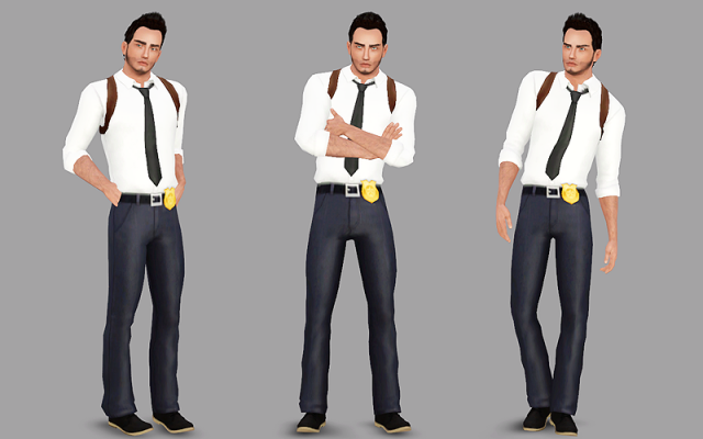 4t3 Detective outfit by DeeDee