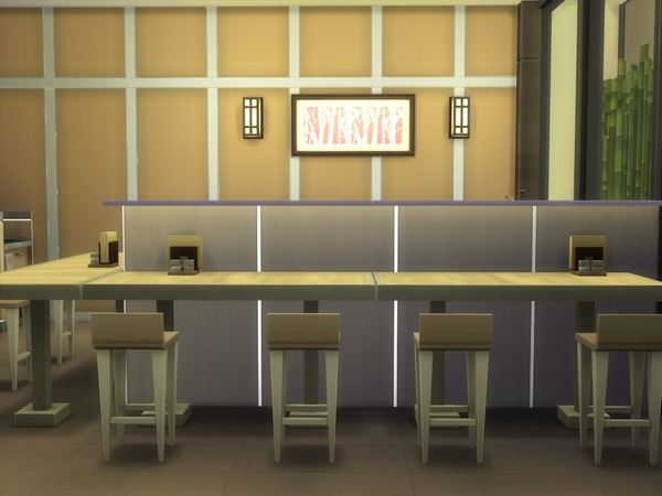 Japanese Restaurant 30x20 by hiyohiyo