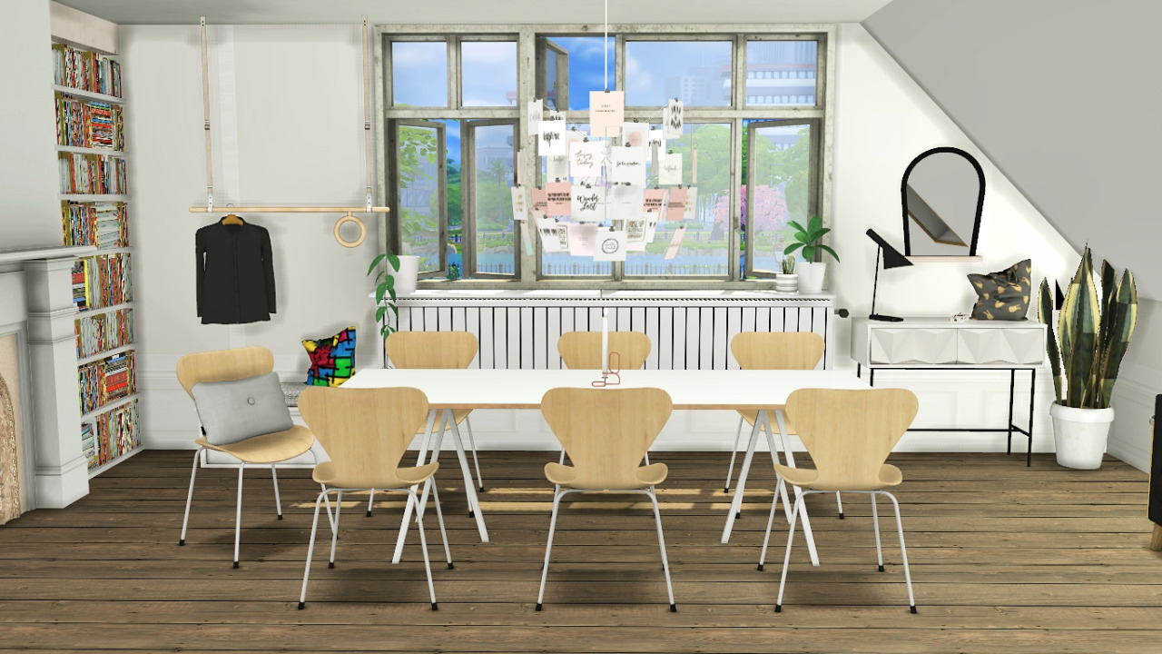 Nordic Inspired Furniture Conversions by MXIMS