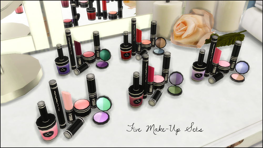 Makeup Set by Martine