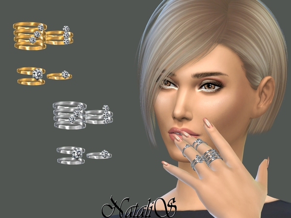 NataliS_Multi rings set 3