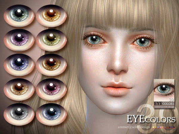 S-Club LL thesims4 Eyecolor 39